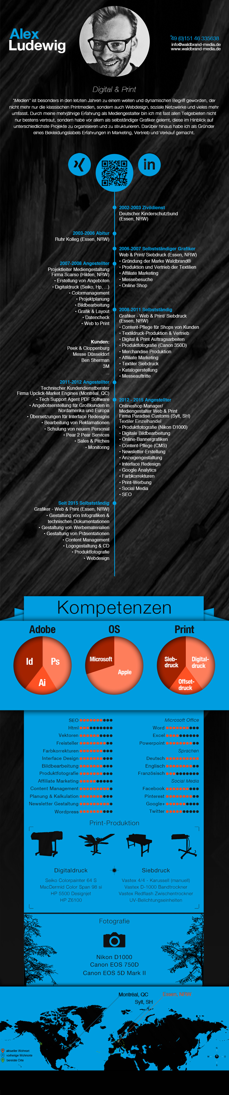 resume, cv, design, gestaltung, grafik, waldbrand media, kreativbüro, webdesign, screenedesign, siebdruck, fotografie, bildbearbeitung