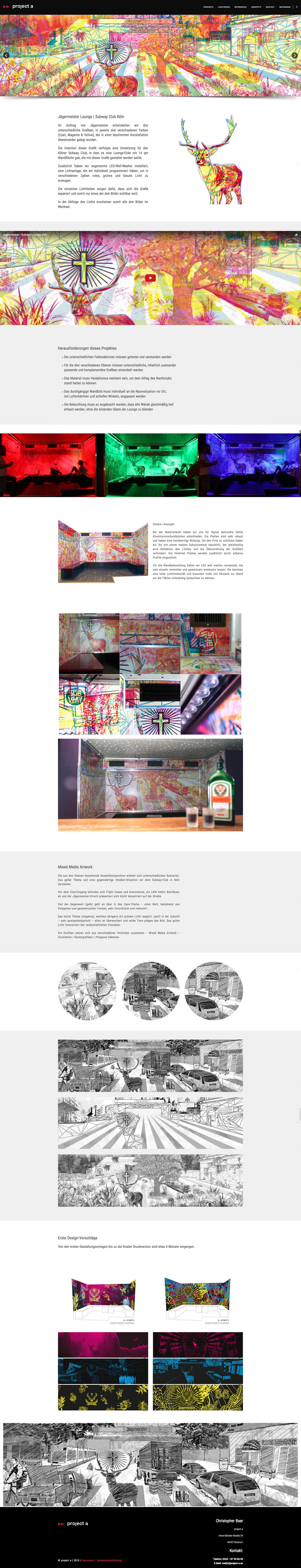 jägermeister, dokumentation, cmyk grafik, grafikdesign, gestaltung, illustration, grafische gestaltung, zeichnung, fotografie, bildbearbeitung, kreativbüro, bochum, essen, witten