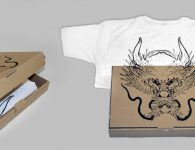 siebdruck, t-shirts, tees, shirts, dragon, tattoo, sandor jordan, tattowierer, essen, ruhrgebiet, japan style, japanese, textildruck, t-shirt produktion, grafik, design, gestaltung, waldbrand media