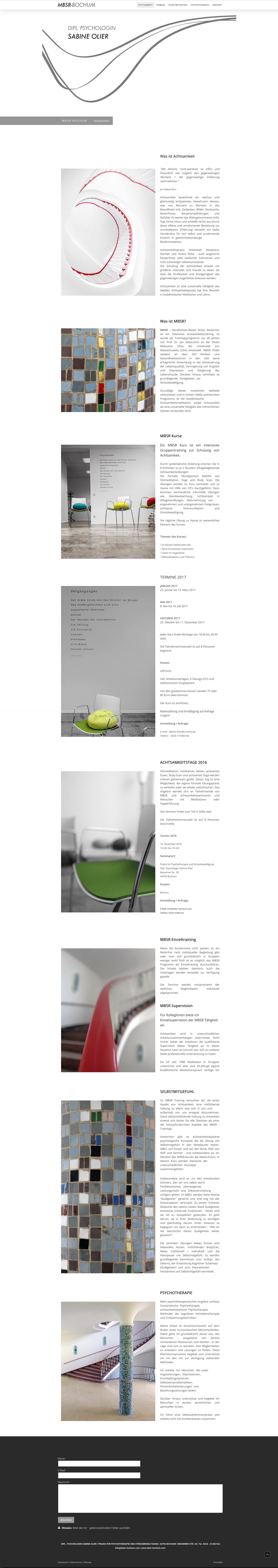 Webdesign Internetseiten-Gestaltung