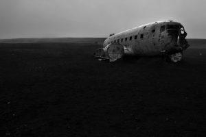 Sólheimasandur, dakota, island, iceland, airplane, ww2, kriegsflugzeug, black beach, black sand beach, schwarzer strand, flugzeug, abgestürztes flugzeug island, crashed airplane