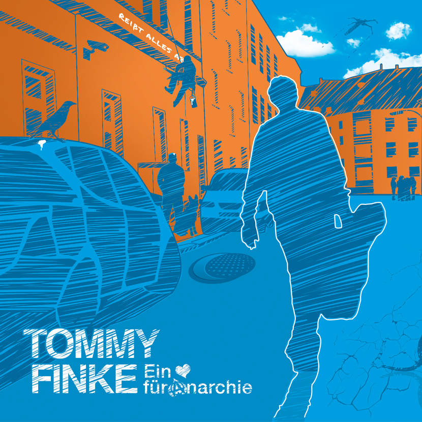 Tommy Finke, CD-Booklet Artwork, Art Work, Booklet, CD Cover, Album Artwork, Design, Illustration, Grafik, Layout, Gestaltung, Musik, Künstler, Bochum, Illustration, Grafik & Layout - CD Cover & Booklet