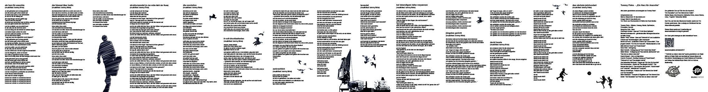 Illustration, Grafik & Layout – CD Cover & Booklet | Tommy Finke