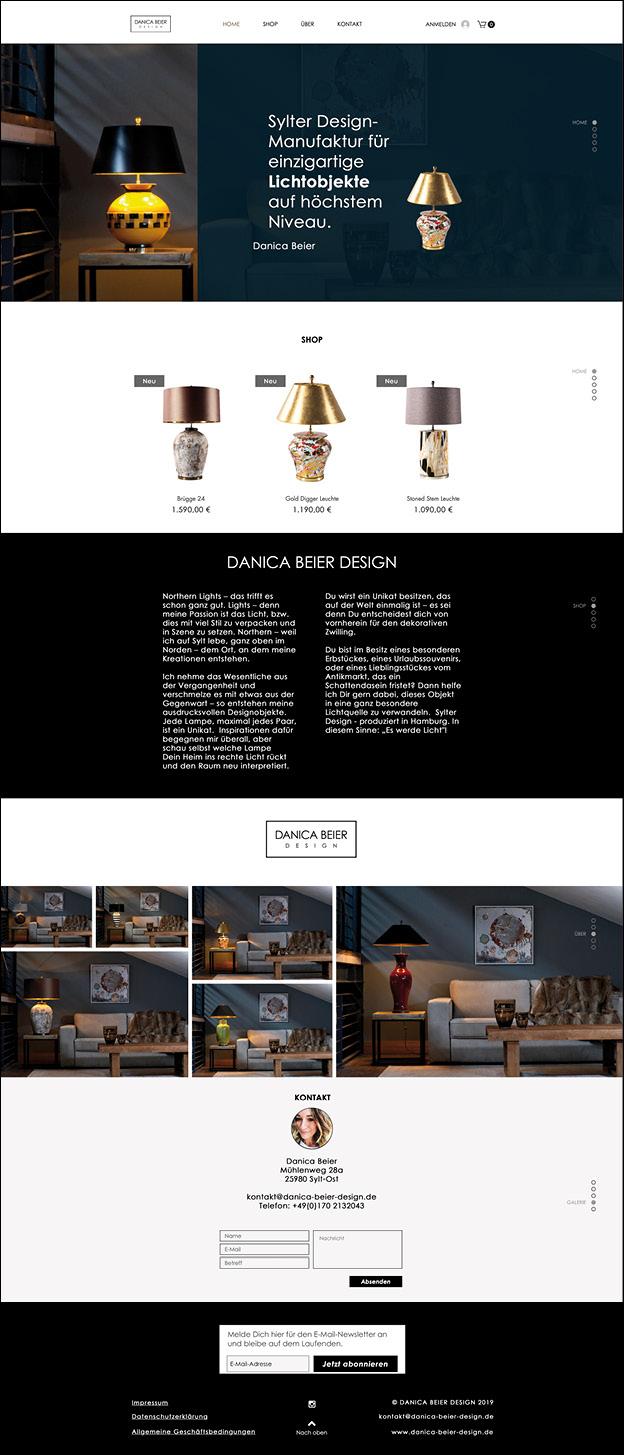 Danica Beier Webdesign, website, grafikdesign, mediadesign, waldbrand media, Grafikdesign Ruhrgebiet, cms, 2019
